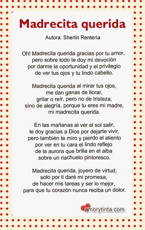 Gracias Madre Poemas 78 terbaik ide tentang madre poema di pinterest | poemas de padres