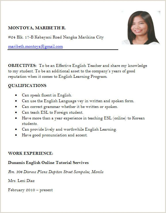 Resume Example For Job Application Pdf Job Application Letter