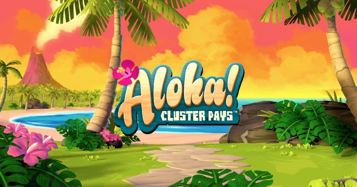Aloha: Cluster Pays is one of the latest Net Ent slots to be released, with a theme revolving around Tiki gods and tropical islands.
