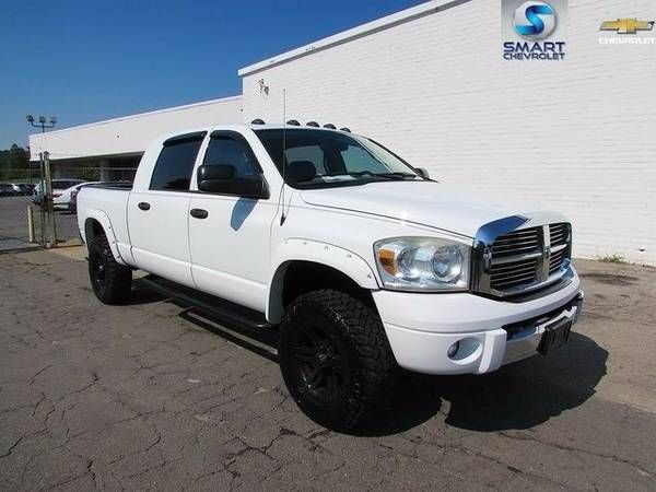 2007 Dodge Ram 3500 44 Mega Cab Laramie Leather Loaded (Dodge Ram 3500)
