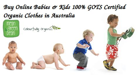 Check out a wide range of #OrganicCottonBabyClothes for your newborn babies & #kids that are made from the highest quality 100% GOTS certified Organic cotton at MeanGreenBean in Australia that will keep your kids covered from birth and beyond.