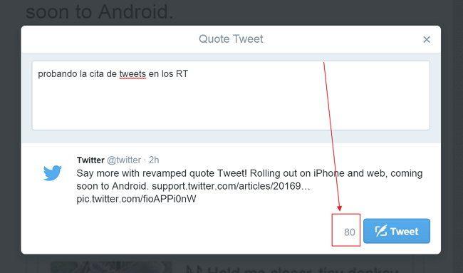 Twitter para Android ya permite embeber y escribir más sobre los Retweets