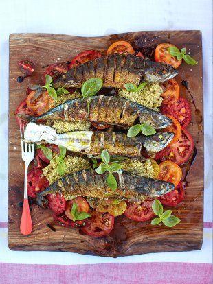 Mackerel Salad   Fish Recipes   Jamie Oliver Recipes