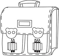 Výsledok vyhľadávania obrázkov pre dopyt školská taška kreslená