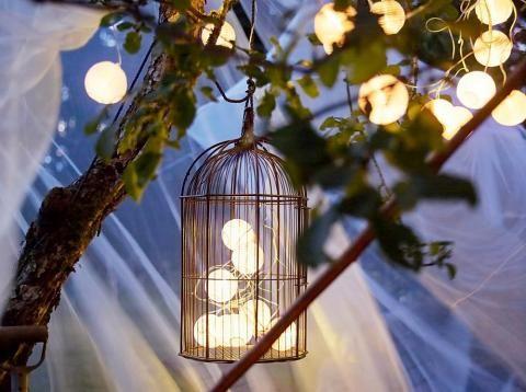 """Lichterkette """"Solvinden"""" von Ikea für Gartenbeleuchtung"""