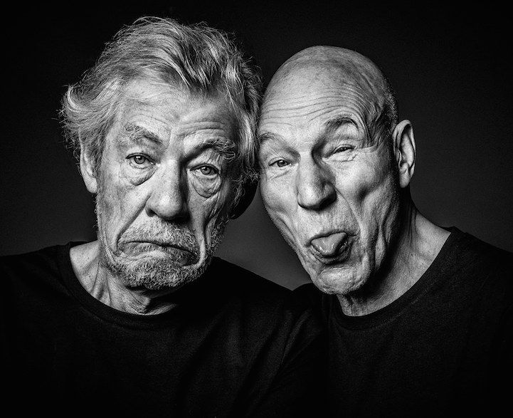 Andy Gott's playful celebrity portraits show off the goofy sides of A-List stars