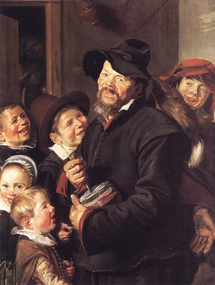 룸멜 포트 연주자 - 프란스 할스  1618-1622. 킴벨아트뮤지엄