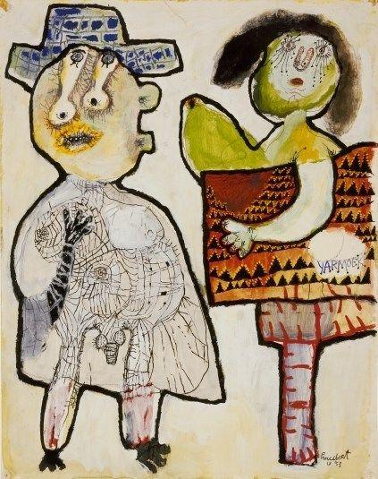 """LUCEBERT, """"yarmoek""""Yarmoek"""" (1953)"""