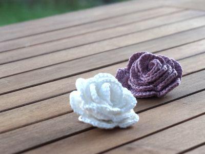 Petite Maille | Le crochet c'est pas ringard !: Des roses au crochet