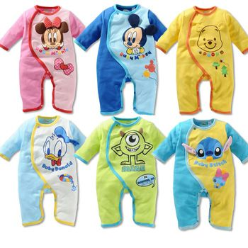 Baby Disney romper sleep suits