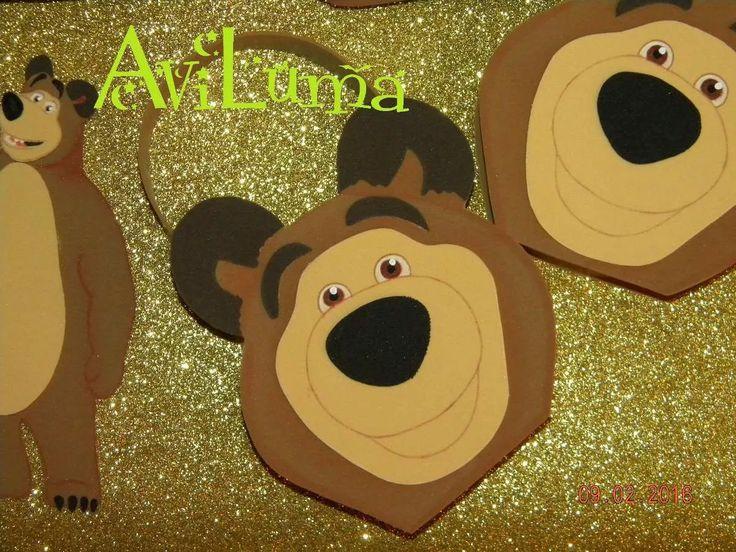 bolsitas dulceros de masha y el oso