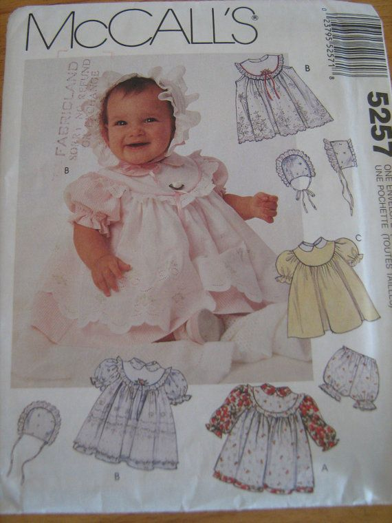 Simplicity Baby Sewing Pattern Dress Pinafore By