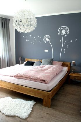 die besten 25 wandgestaltung schlafzimmer ideen auf. Black Bedroom Furniture Sets. Home Design Ideas