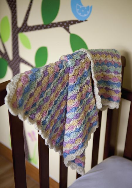 Ravelry: Abbey Hey blanket pattern by Kate Heppell