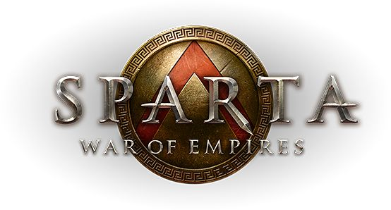 sparta: war of empires.  perhaps my favorite logo yet.