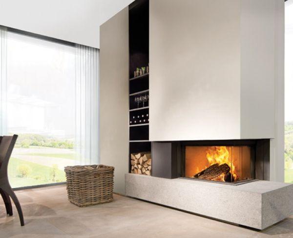 die besten 25 holzkamin ideen auf pinterest gaskamin kachelofen modern und gaskamin raumteiler. Black Bedroom Furniture Sets. Home Design Ideas