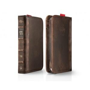Toc din piele BookBook pentru iPhone 4 / 4S