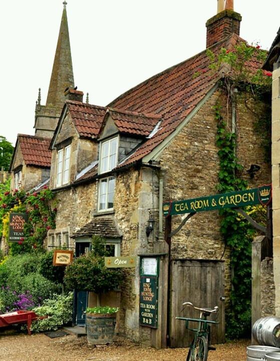 King John Hunting Lodge Tea Rooms Lacock