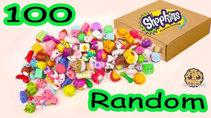 MEGA Large Random Package Lot of 100 Shopkins Season Exclusives - Toy Un...