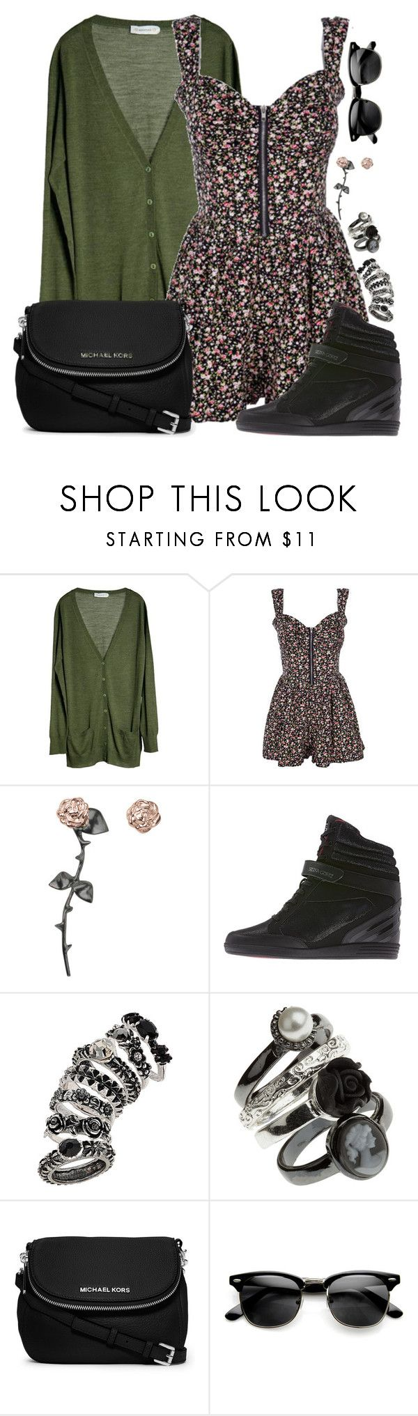 """""""We can get through this tonight. I will be the anchor to your runaway train tonight. I will be the beacon when you're feeling insane. I know it hurts sometimes, so i'll get in line with you."""" by rocketsheep ❤ liked on Polyvore featuring MÃ¥nestrÃ¥le, Smith/Grey, adidas, Topshop, MICHAEL Michael Kors, michaelkors, selenagomez, lyrics and thewordalive"""