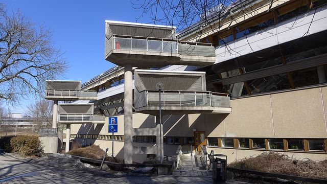 Ralph Erskine, Stockholm University Library (1997)