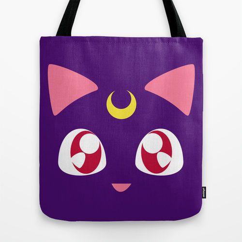 Sailor Moon Luna Tote BAG Handbag | eBay
