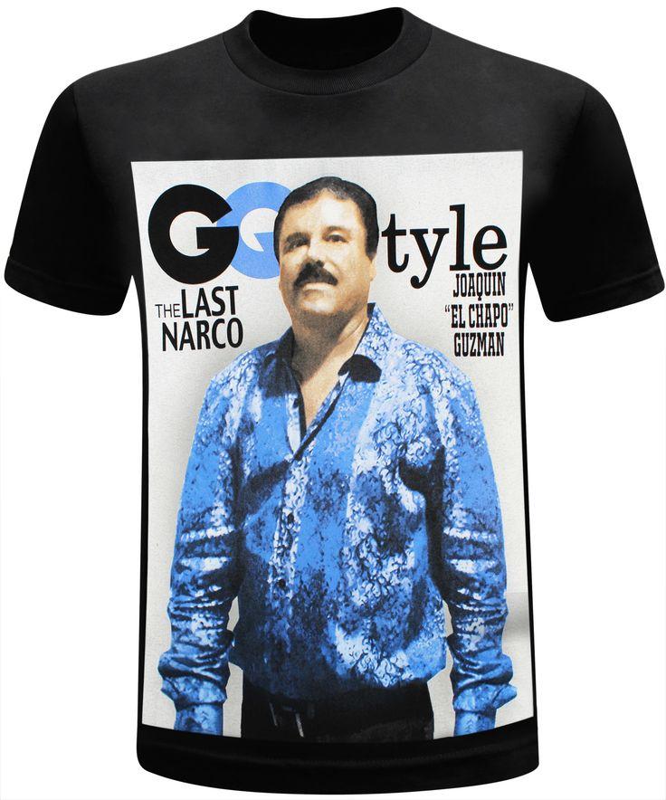 El Chapo Guzman Style Men's T-Shirt