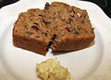 Sweet Potato Pecan Quick Bread