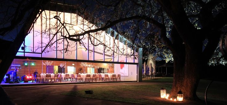 Wedding reception venue at Peppermint Bay outdoor view