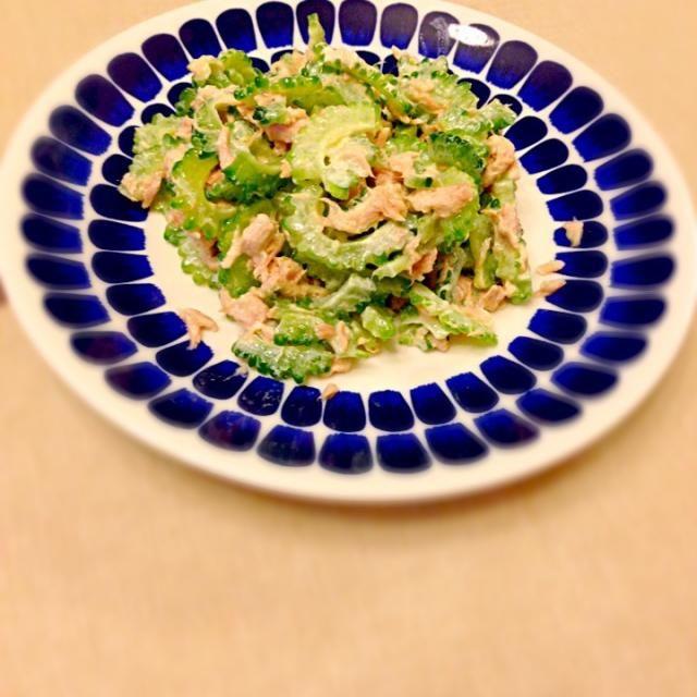 ゴーヤ大好き♡ この食べ方が一番お気に入りです - 15件のもぐもぐ - ゴーヤ サラダ by kurumayu