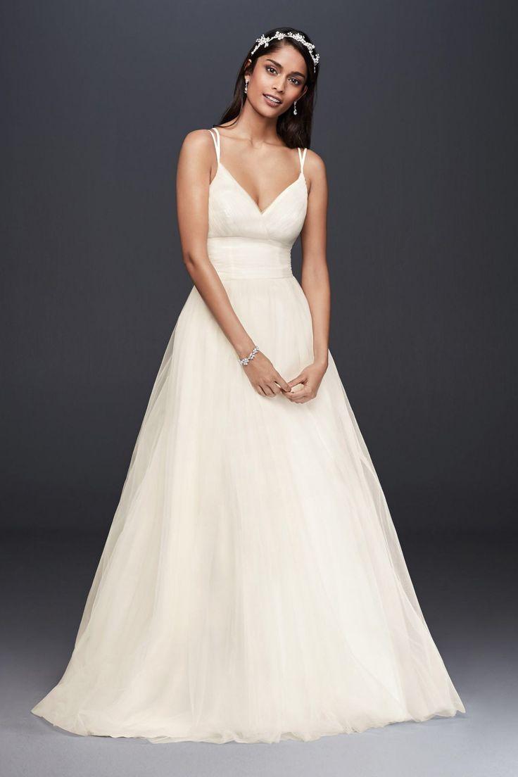 Rent wedding dress davids bridal   best Bridal Dress images on Pinterest  Short wedding gowns