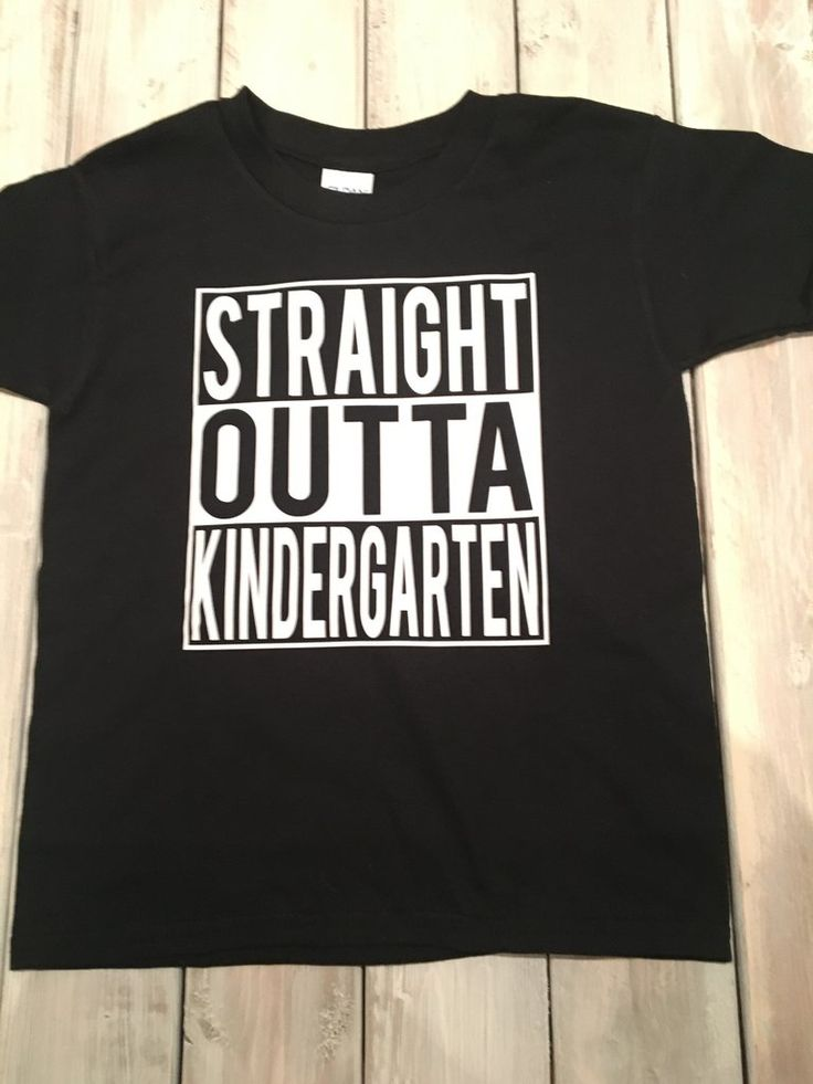 Straight Outta Kindergarten, Kids fashion, First day of School, Kids tee – The Little Oz Shop