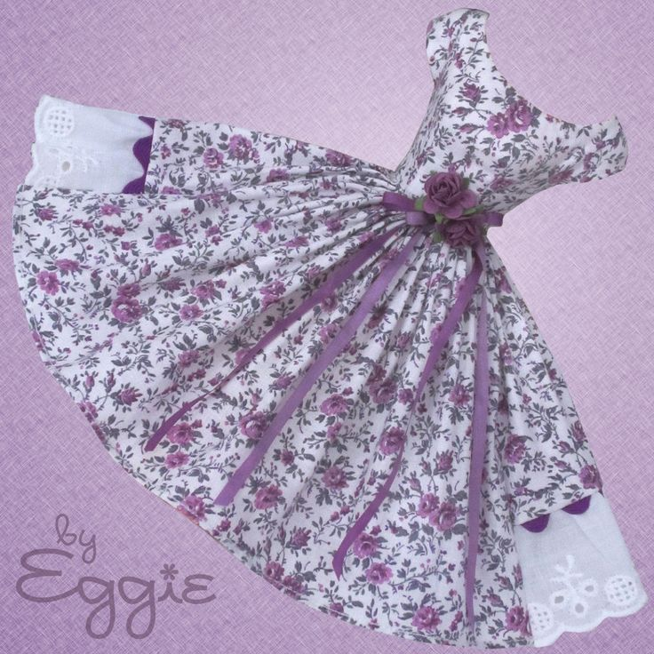 Plum Perfect - Vintage Barbie Doll Dress Reproduction Barbie Clothes on eBay http://www.ebay.com/usr/fanfare1901?_trksid=p2047675.l2559