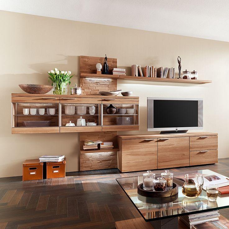 die besten 25 wohnwand massiv ideen auf pinterest alles gute net was ist ein layout und. Black Bedroom Furniture Sets. Home Design Ideas