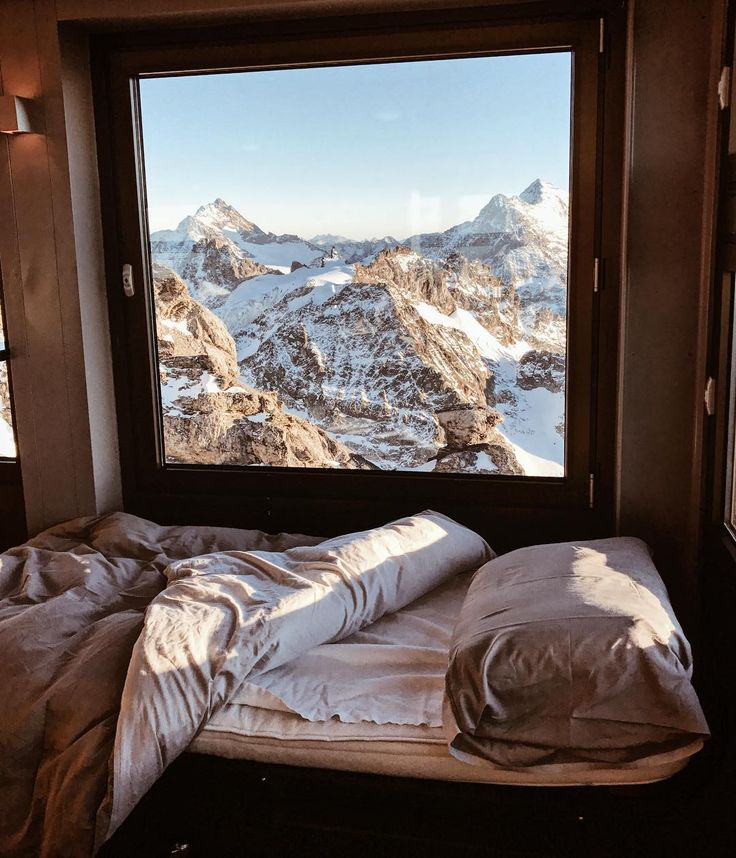 """12.7k Likes, 326 Comments - Emily Thomas (@emitoms) on Instagram: """"It's not every day that that the Swiss tourism let's you sleep in the lodge on the top of the Swiss…"""""""