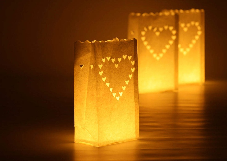Candle bags - thank you Amy X