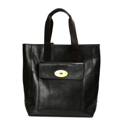 Mulberry Tote Handbag Antony Black Handbag #womensbags