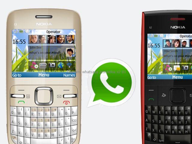 Скачать whatsapp для nokia x2 01