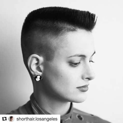 Pin By Womens Short Hair Styles On Ultra Short Crops