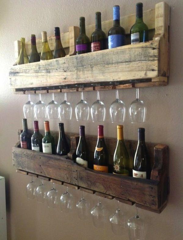 Support à bouteilles de vin