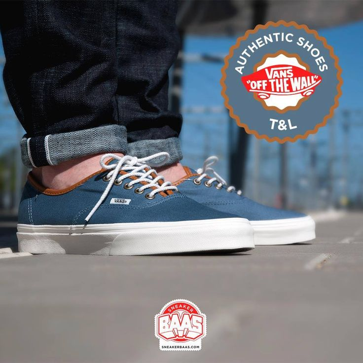 #vans #vansofthewall #t&l #authenticshoes #sneakerbaas #baasbovenbaas  Vans Authentic Shoes T&L - Available online!  For more info about your order please send an e-mail to webshop #sneakerbaas.com!