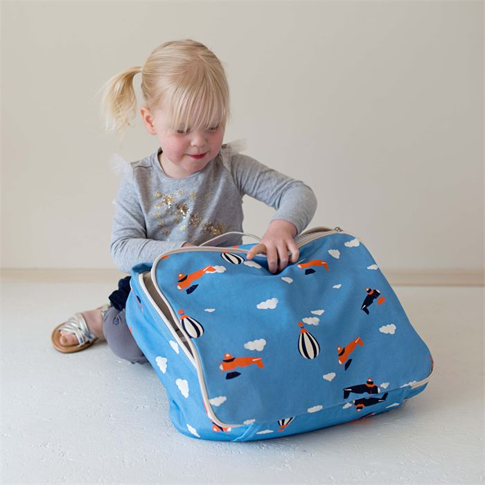 Kids Holiday Bag - for Travel and Adventures. #travel #kids #luggage
