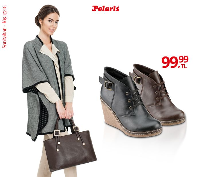 Dolgu topuklar günlük hayatta da rahatlıkla kullanılmaya hazır! #AW15 #newseason #winter #kış #yenisezon #fashion #fashionable #style #stylish #polaris #polarisayakkabi #shoe #ayakkabı #shop #shopping #women #womenfashion #trend #moda #ayakkabıaşkı #shoeoftheday
