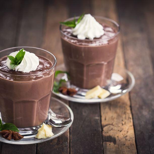 Crème au chocolat aux marrons