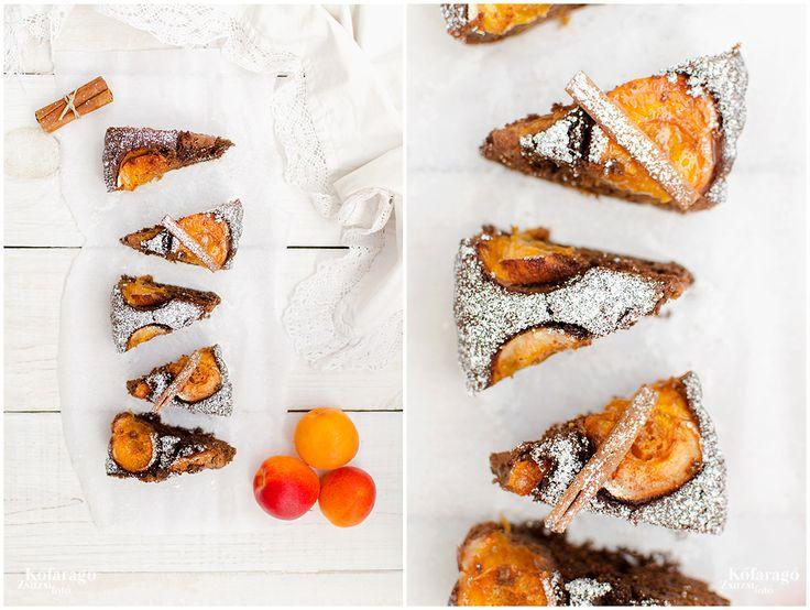 apricot brownie by kofaragozsuzsiphotos www.facebook.com/kofaragozsuzsiphotos