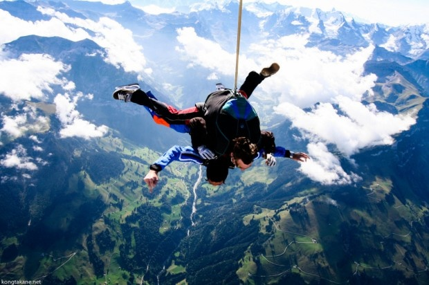 Skydiving in Cape Town: