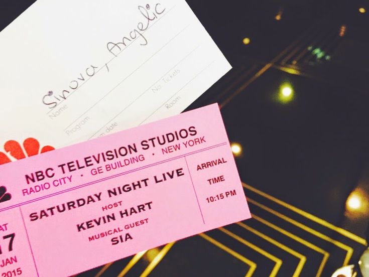 Live from New York, it's Saturday Night [SNL Live Taping] - Simply ...