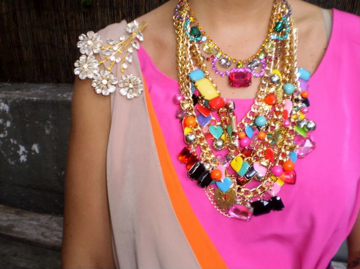 neck candy. love all of these colors.