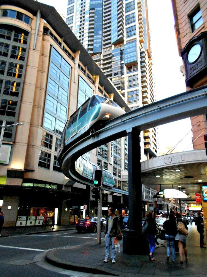 Sydney, Australia Monorail Awesome!!  www.combobeds.com