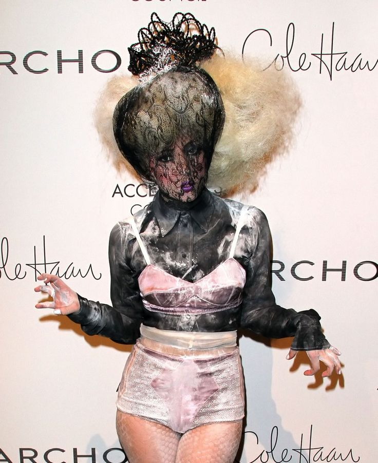 What were they wearing! Lady Gaga at the 13th Annual 2009 ACE Awards: 13Th Annual, 2009 Ace, Awards Celebrities, Awards Awesome, Awesome Pin